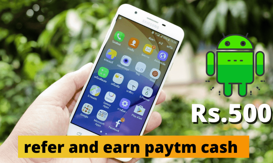 refer and earn paytm cash – paytm refer and earn