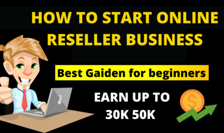 How to start online reseller business